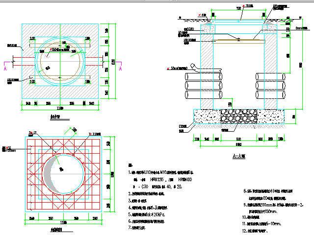 2016年湖南长沙市18m宽城市支路设计图88张(排水绿化交通管综)