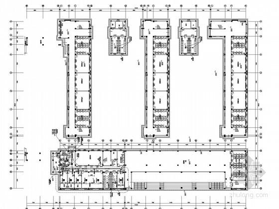 [北京]多层教学楼建筑空调通风及防排烟系统设计施工图