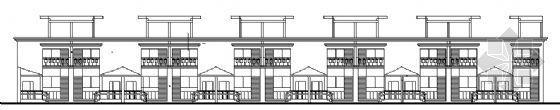 某联排别墅建筑方案图