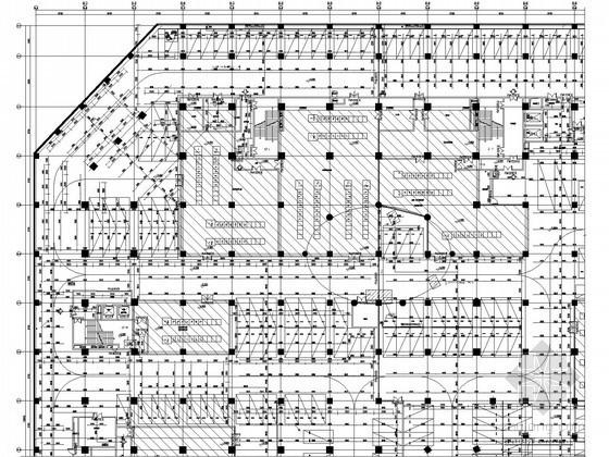 [江苏]22万平特大型综合商业体给排水全套图纸(压力排水、大空间智能灭火)