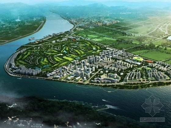 [湖南]城市规划及单体设计方案文本(国外知名建筑事务所)