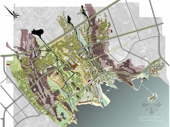 [新疆]滨湖湿地景区周边区域规划设计(著名设计研究院)