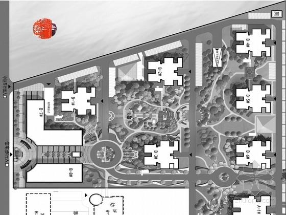 """[西安]""""花溪叶影""""佳境自然现代居住区景观规划设计方案"""