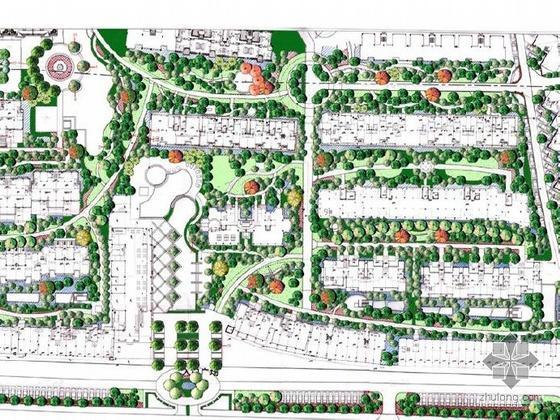 福州小区景观设计扩初
