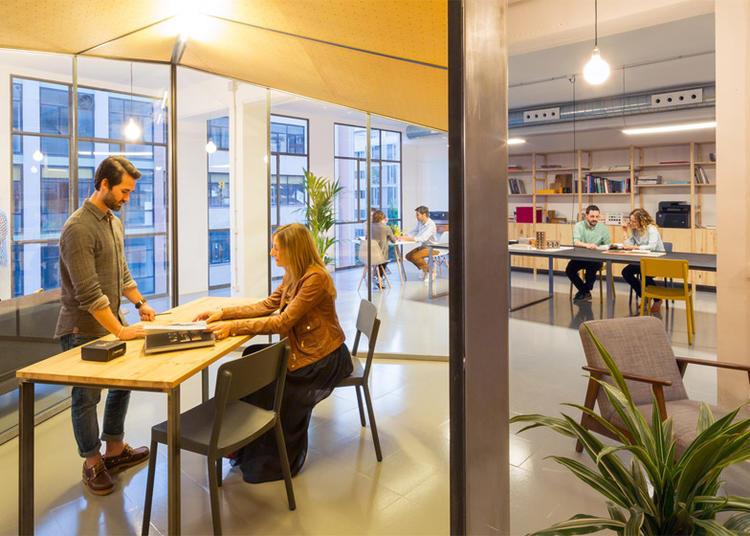 建筑师给自己设计的办公室,什么样的都有_13