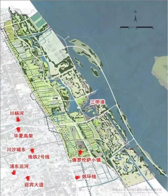 """上海又出大事啦!浦东新区将建成""""后花园""""_6"""