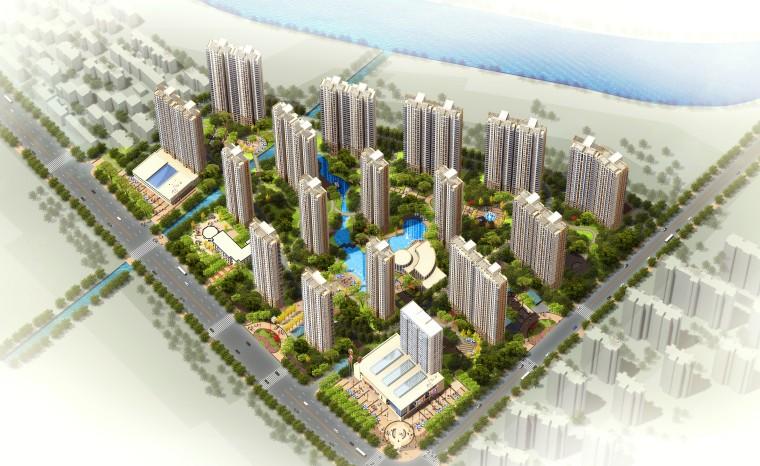 [安徽]高层住宅安置区设计方案文本(JPG)