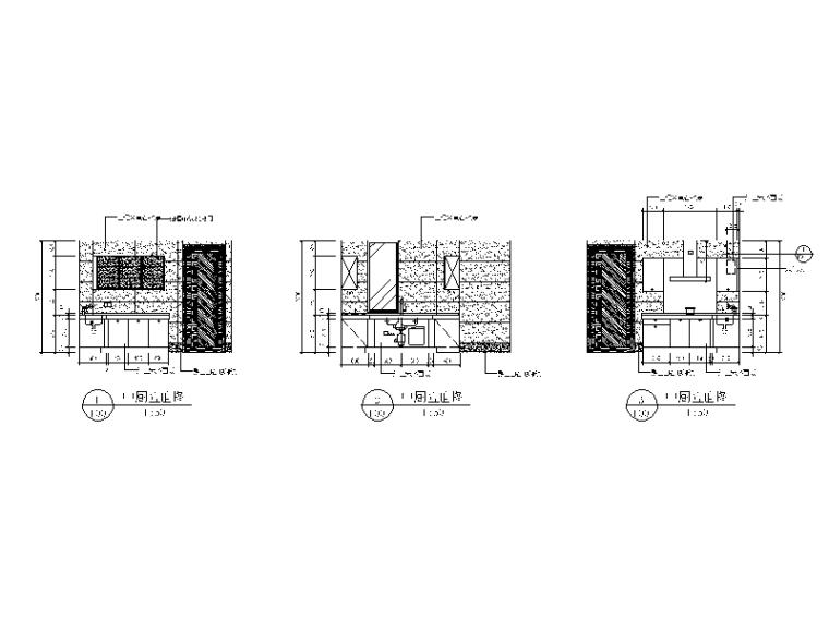 【北京】两套时尚经典别墅设计CAD施工图_2