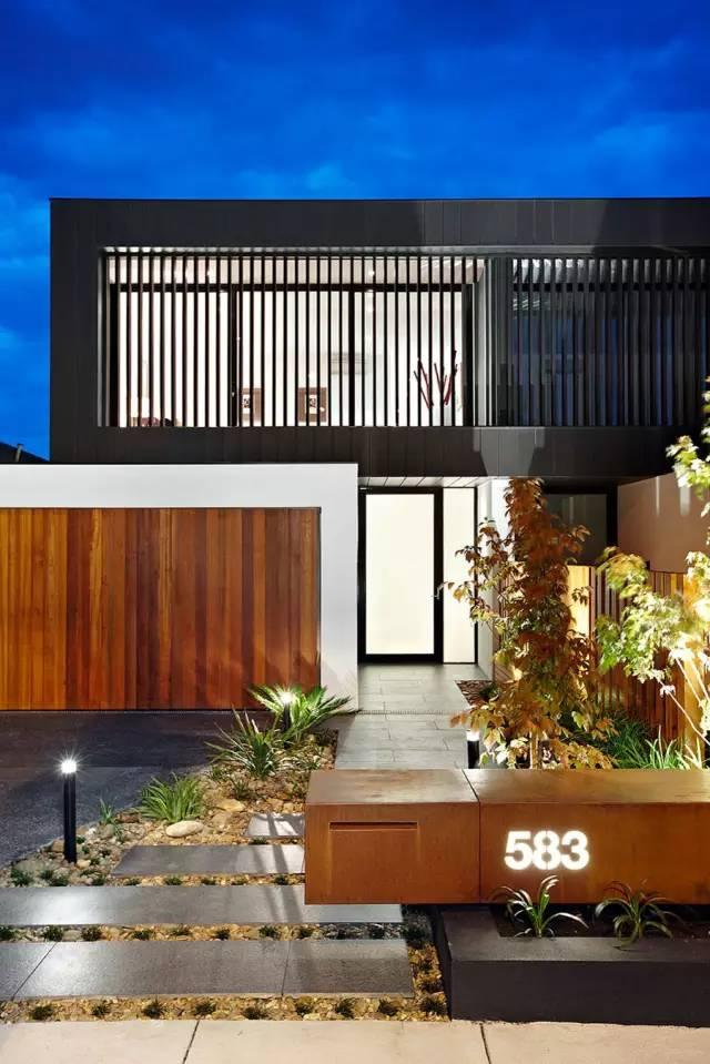 赶紧收藏!21个最美现代风格庭院设计案例_149