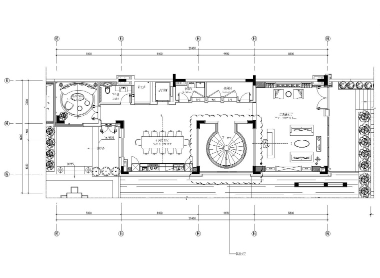 [广东]刘卫军-南沙金茂湾豪华别墅样板房室内装修施工图+效果图+官方摄影