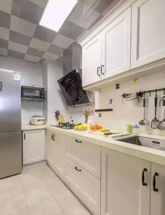 U水槽资料下载-厨房装修图集,真是没想到厨房还可以这样装修!