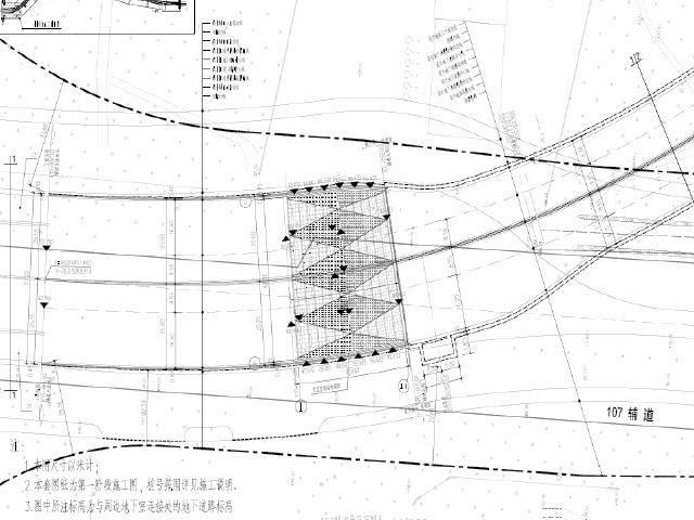 [河南]双向八车道单孔双孔矩形隧道地下道路及地下附属建筑设施设计图948张
