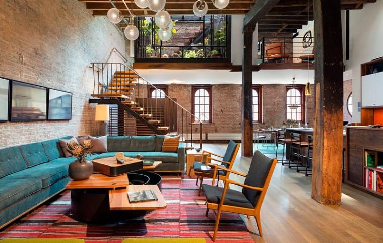美国现代老厂房改造的住宅