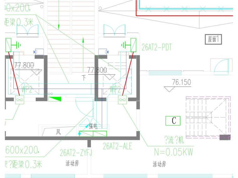 [河南]10栋高层住宅楼全套电气施工图