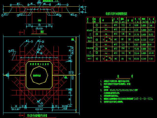 UPVC管与检查井连接图资料下载-丙式(骑缝式)窨井加固钢筋设计图