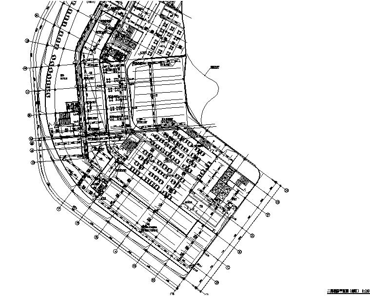 二层消火栓平面图