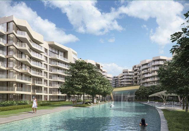 新加坡吉宝湾丽珊景住宅景观设计_4