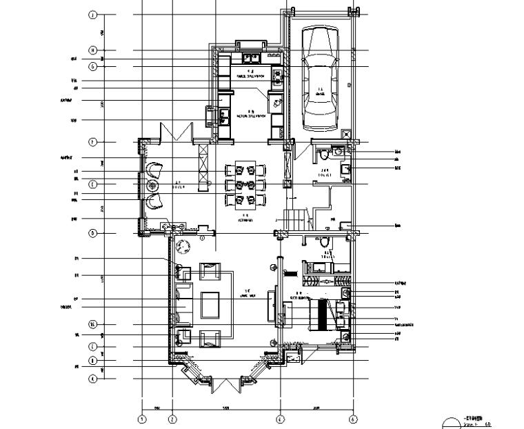 [辽宁]夏日里的Tiffany—现代摩登住宅设计施工图及效果图