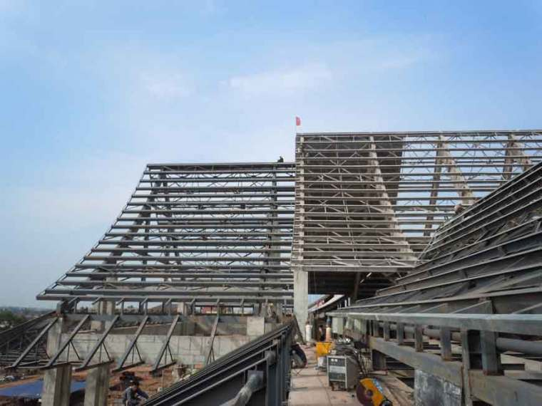 [浙江]單層鋼筋混凝土框排架車間結構設計說明書_1