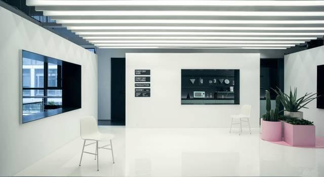 一个关于电影的办公空间,每个角落都有镜头感!_11