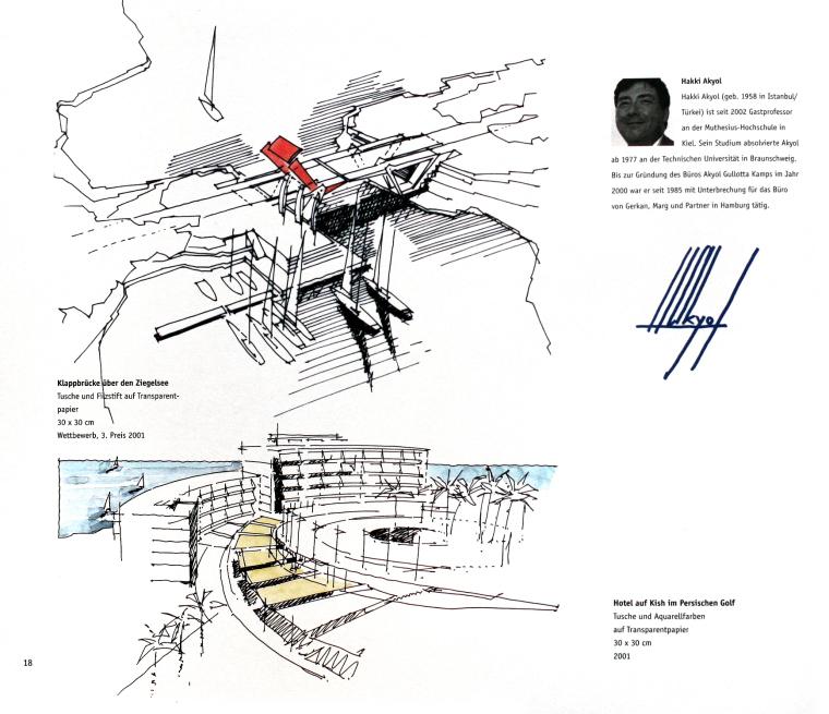 117张设计大师景观手绘表现图(含:建筑手绘图)