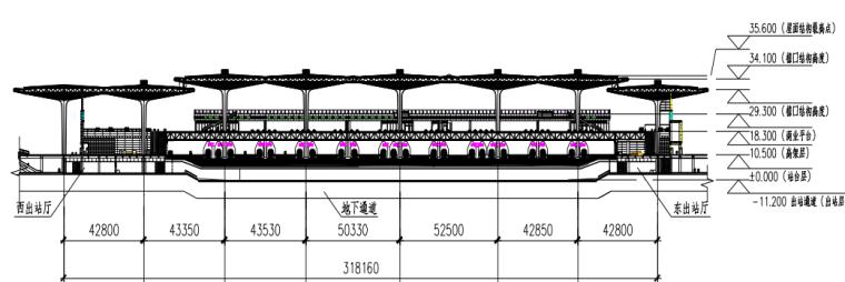 大型高铁站房的结构设计及关键技术_5