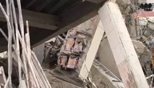 台湾地震已致95死!倒塌大楼疑偷工减料,梁柱内发现色拉油桶!