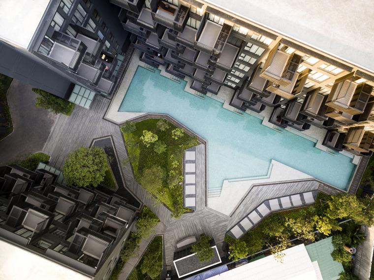泰国TheDeck公寓景观-5