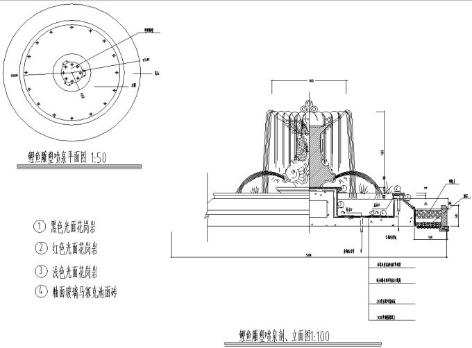 园林景观小品雕塑标志CAD施工图61张_7