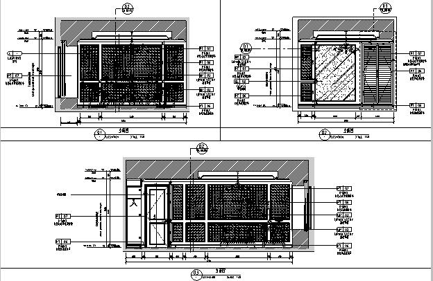 [杭州]欧式售楼处样板房住宅空间设计施工图(含效果图+实景图)_3