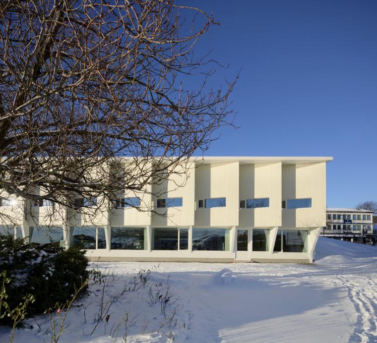 挪威格里姆斯塔德图书馆-4