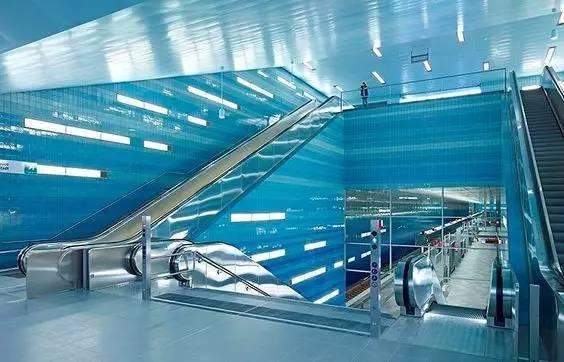 世界最美地铁景观,美到让你不想回家_61