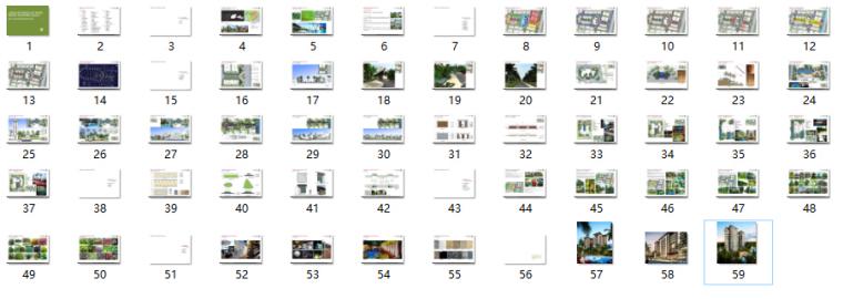 [海南]三亚高端温泉度假公寓景观设计方案(东南亚风格)-总缩略图预览