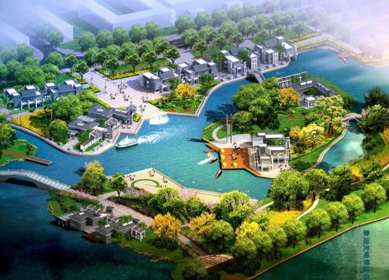 [江西]南昌朝阳新城滨湖地区景观规划设计方案文本(体育,生态)