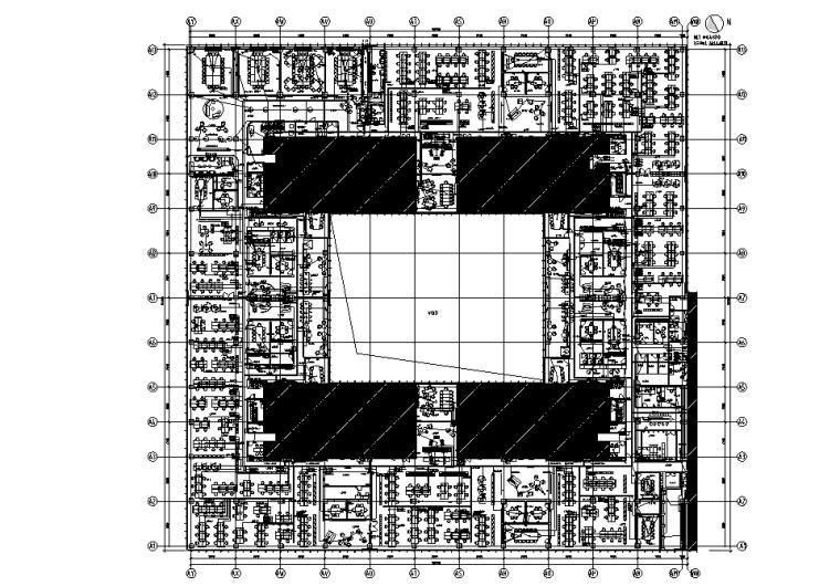 惠普北京办公室装饰装修机电竣工图