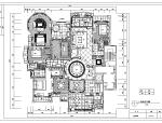 北京星河湾F户型样板间室内设计施工图纸