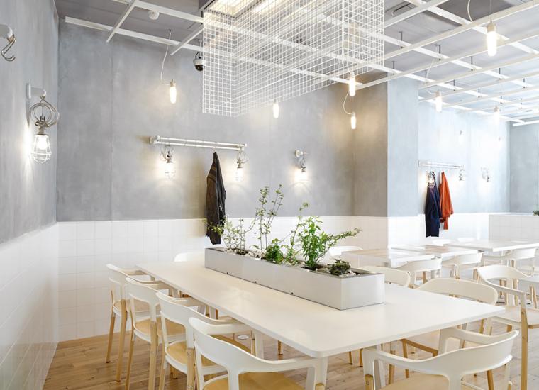 CafeCoutumeAoyama咖啡馆室内设计方案