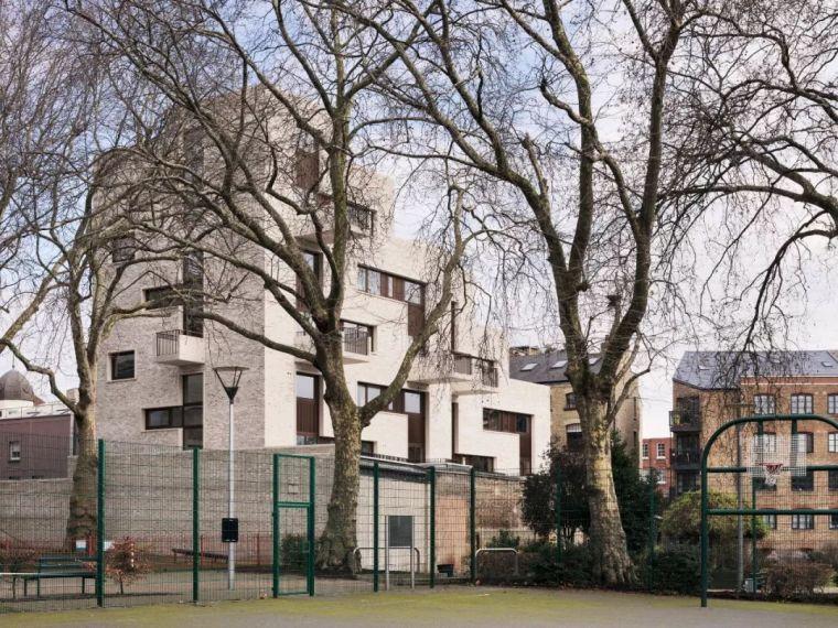 建筑师独立开发的公寓楼,真是好房子!_51