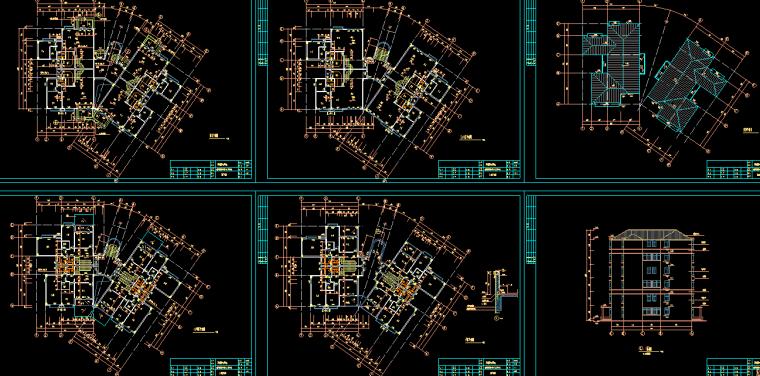 [广州]冠迪花园复式公寓建筑扩展图