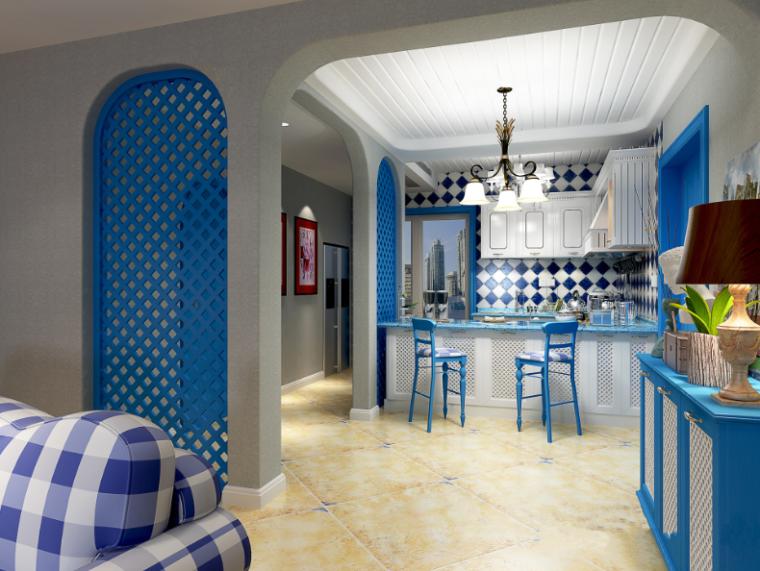 [贵州]地中海住宅200平米四风格居室设计施工图纸埋设排水管图片