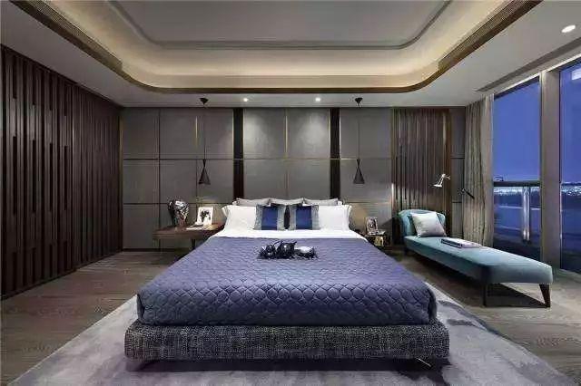卧室背景墙别放空,这样设计美极了!_17