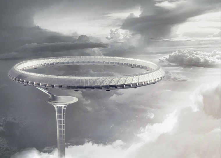 IFLA获奖作品集合资料下载-2015摩天大楼设计竞赛eVoloSkyscraperCompetition获奖作品
