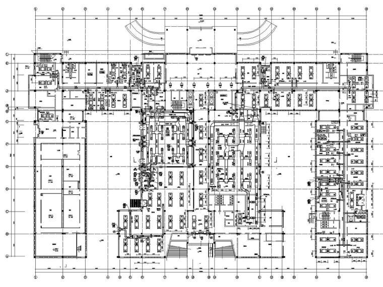 [黑龙江]多层研发中心暖通空调全系统设计施工图(大院出品)