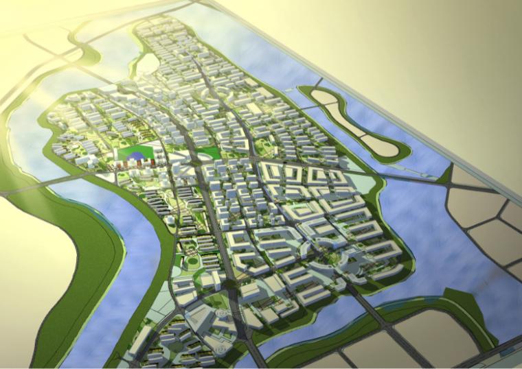 [浙江]安吉县城城北核心区块控制性详细规划方案文本