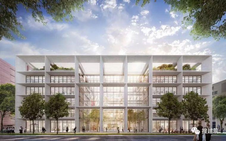 Foster+Partners新作品:开放式办公楼