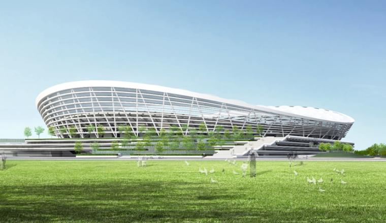 [江蘇]體育中心體育場及游泳館工程鋼結構施工方案匯報PPT(144頁,附圖較多)