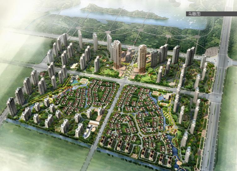 [江苏]苏州雅戈尔太阳城住宅区规划设计方案文本