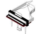 bim软件应用-族文件-钢琴