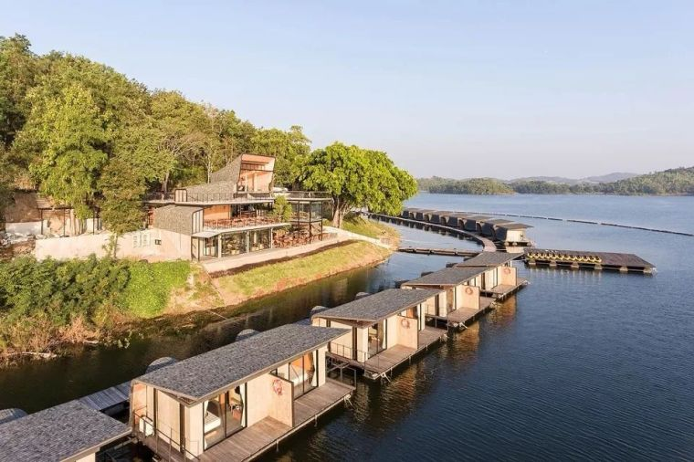 超美的水上筏式酒店设计,美出了新高度_3