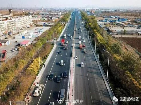 路更顺啦!滨海新区又有一批道路桥梁完工!